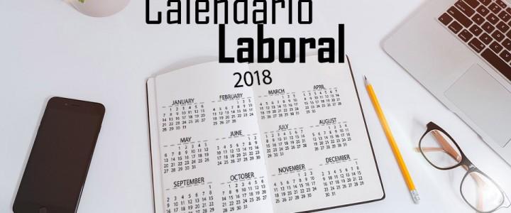 Ya tenemos el calendario laboral oficial de 2018: festivos, puentes, etc.