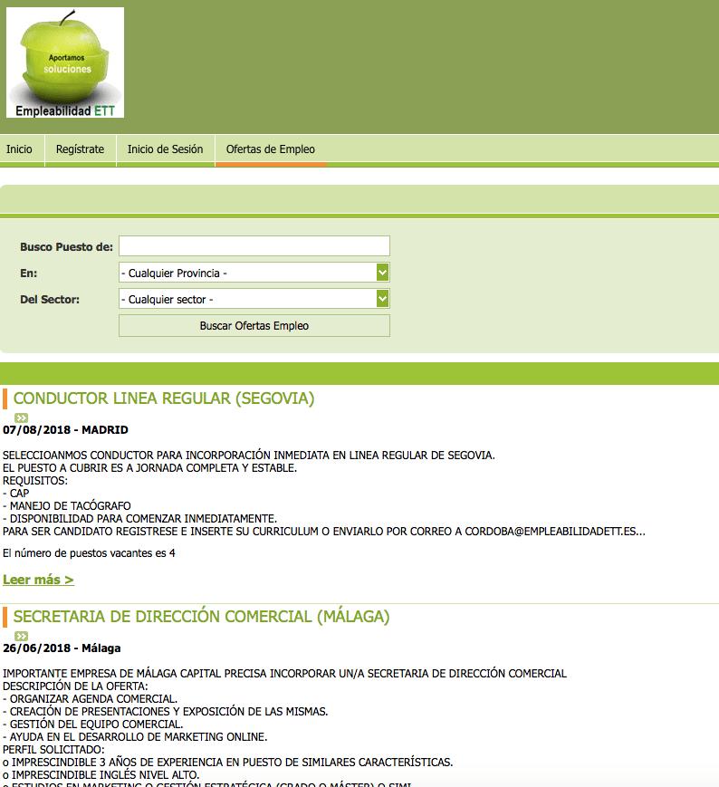 app búsqueda empleo